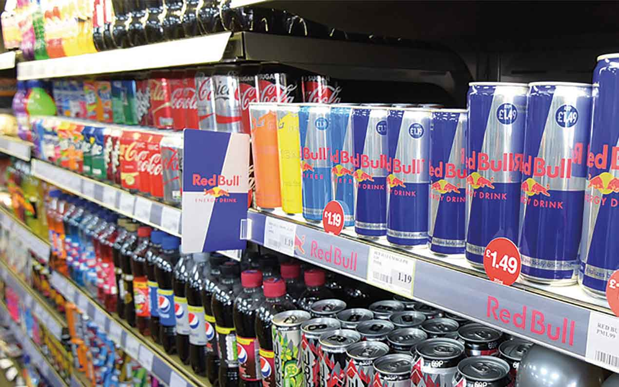 energy drinks sales ban