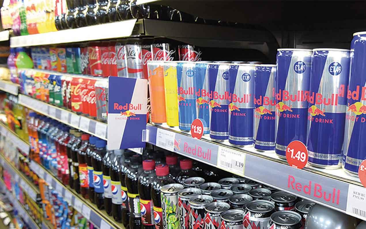 energy drinks sales ban