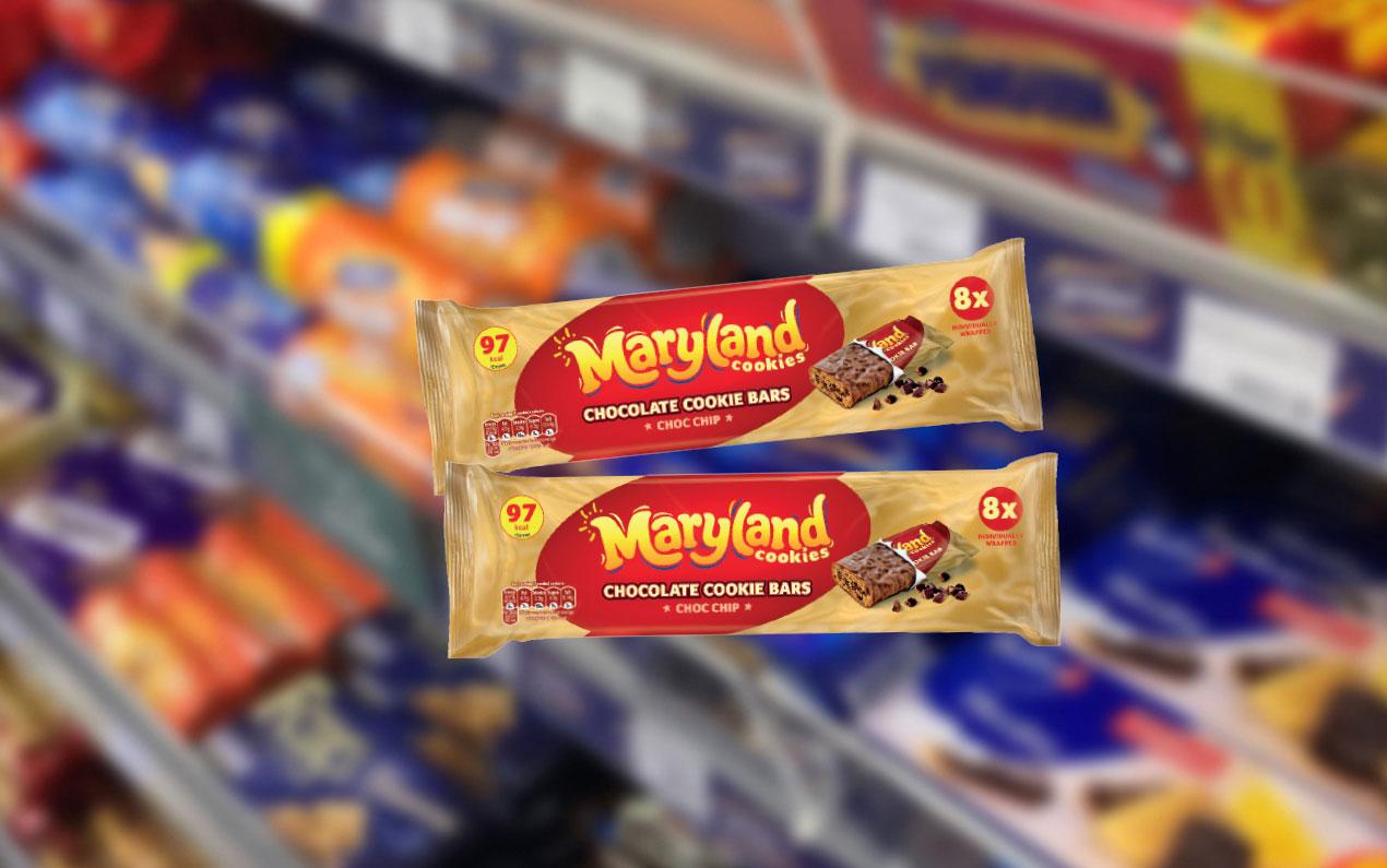 Burton's Biscuits' new Maryland Cookie Bars
