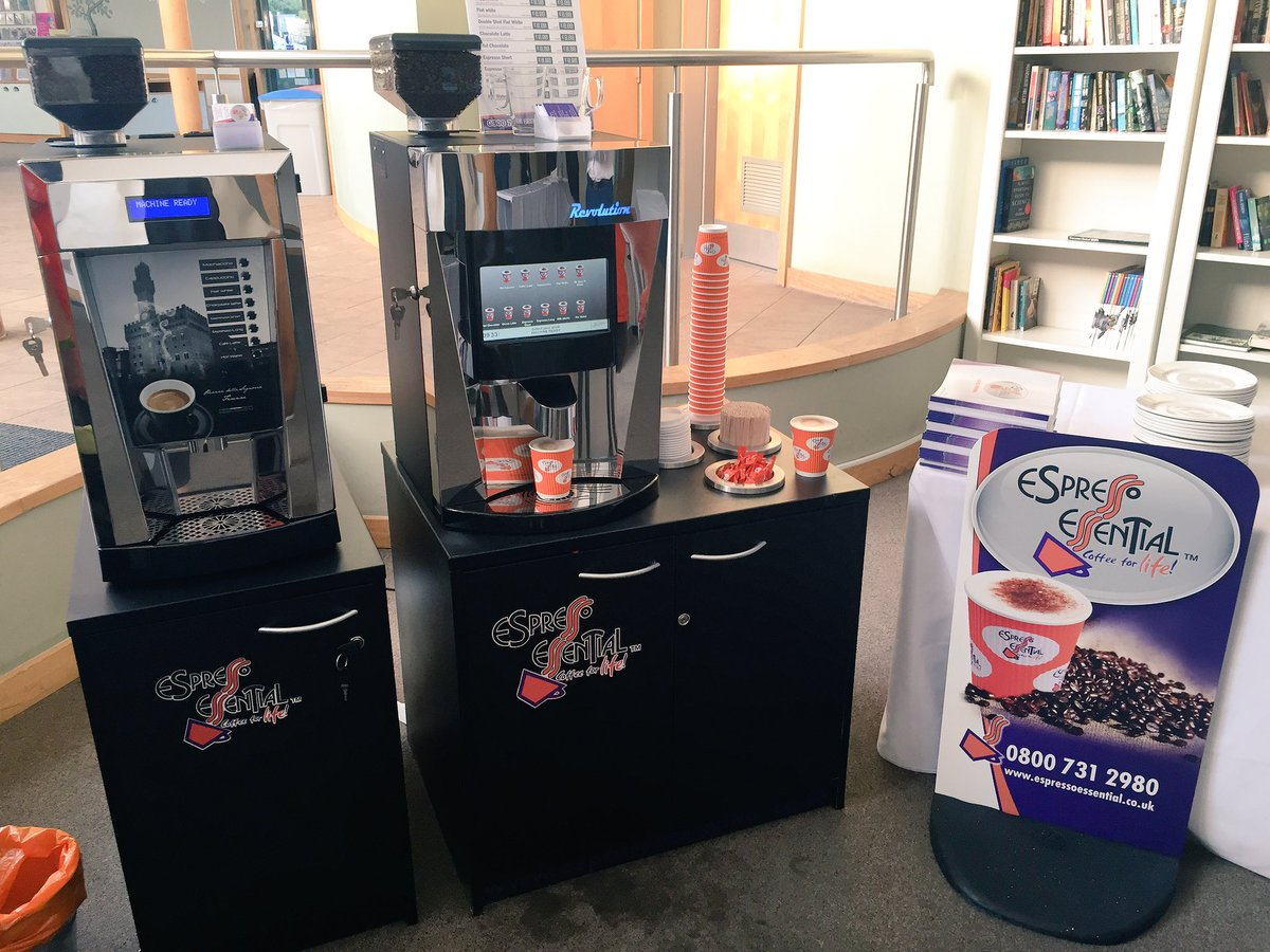 Espresso Essential coffee machines available to retailers