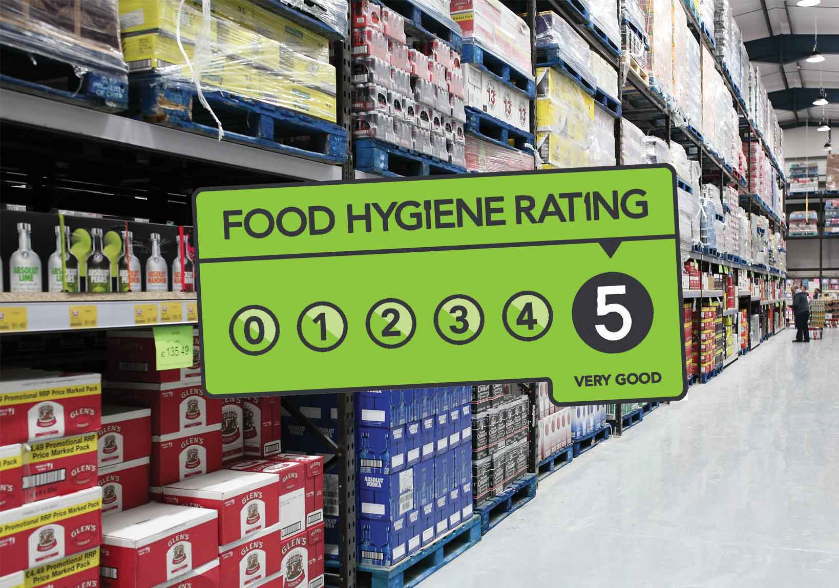 cash and carry food hygiene