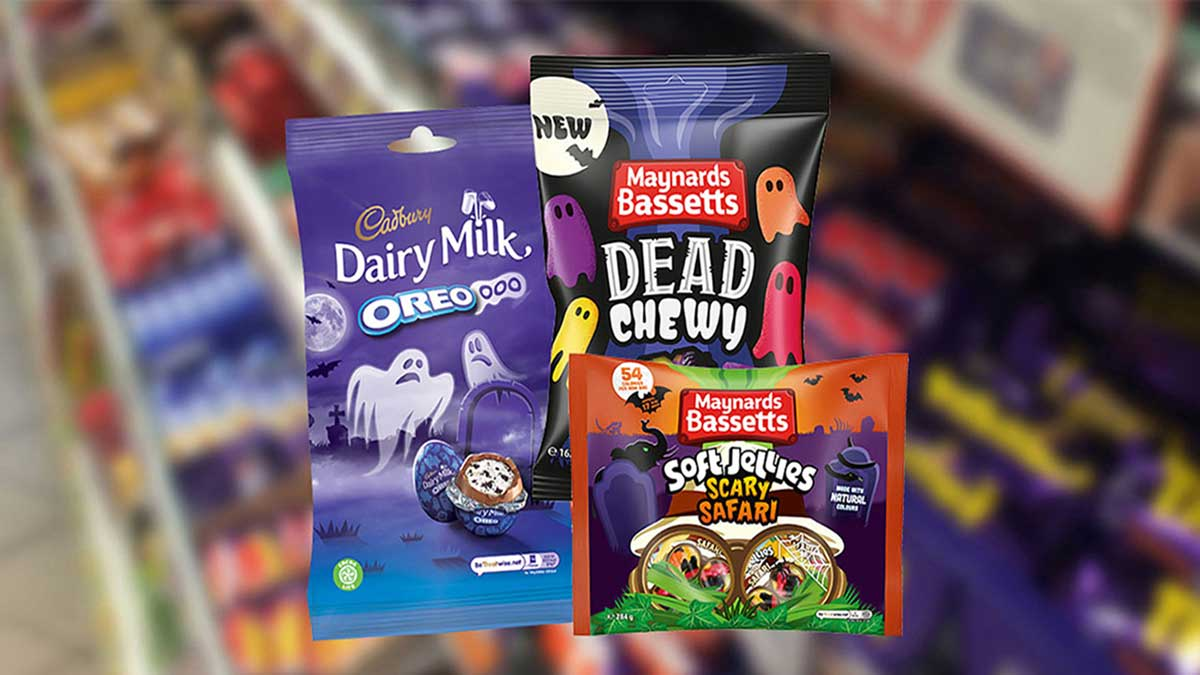 Mondelez Halloween promotional sweets