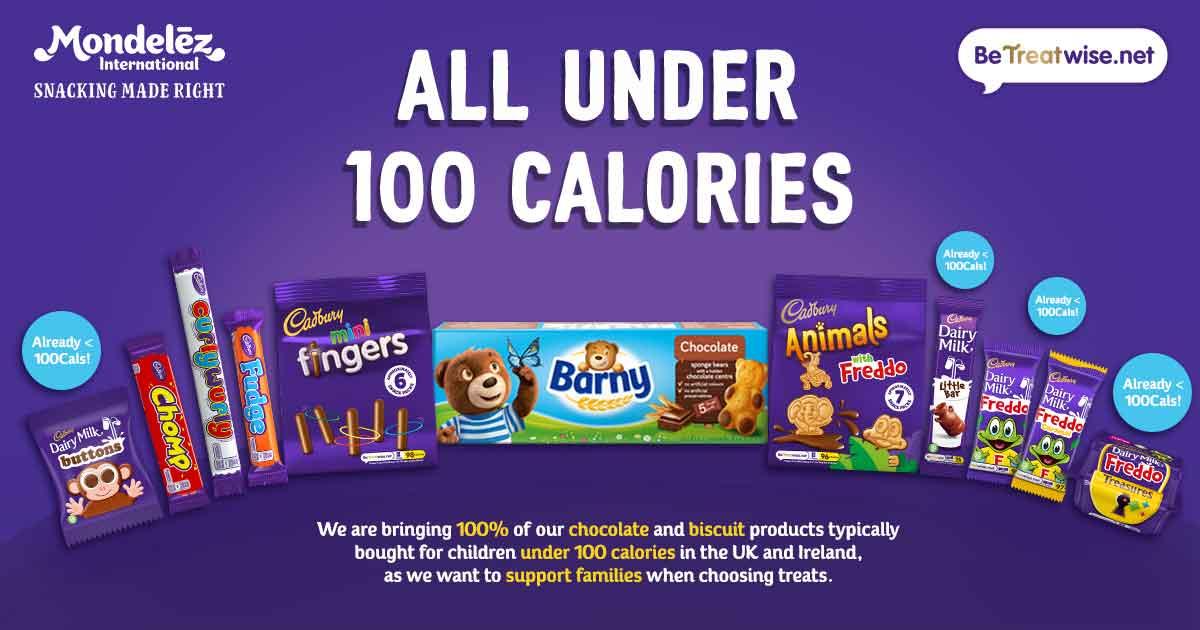 Cadbury less sugar