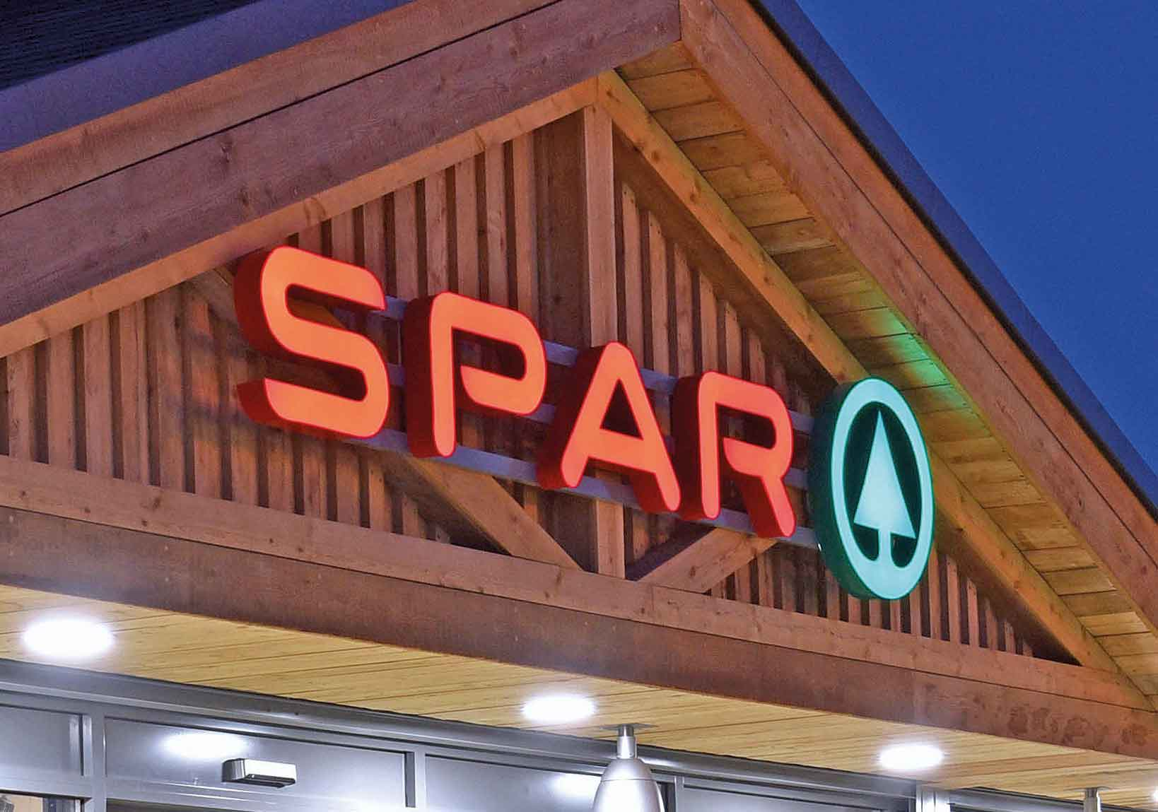 Pledge to support Spar stores