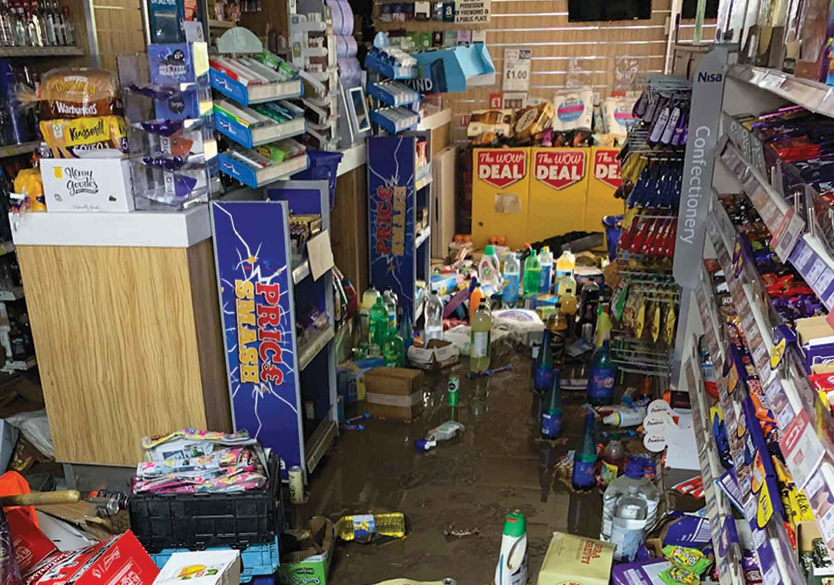 Severe weather costs UK retailers thousands
