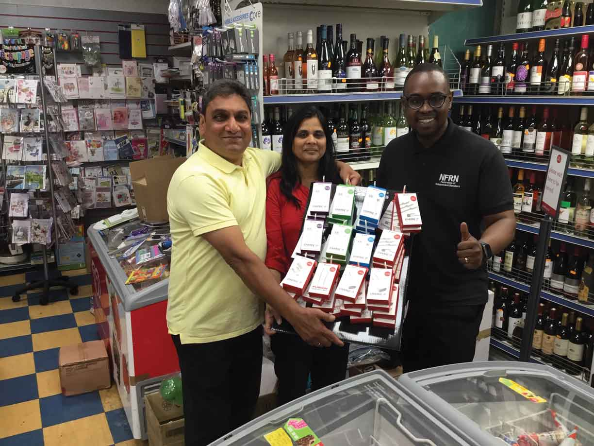 Patel wins £450 of stock