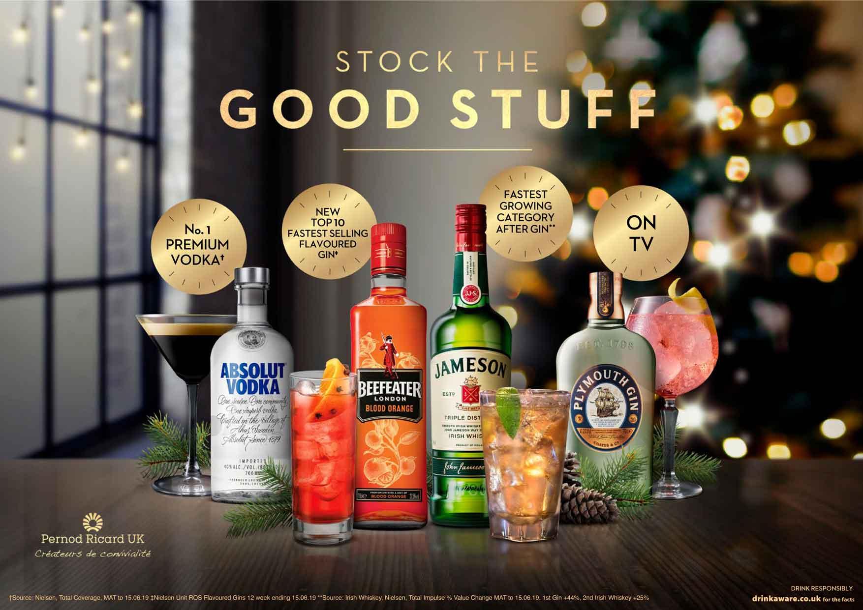 Alcohol Christmas premium