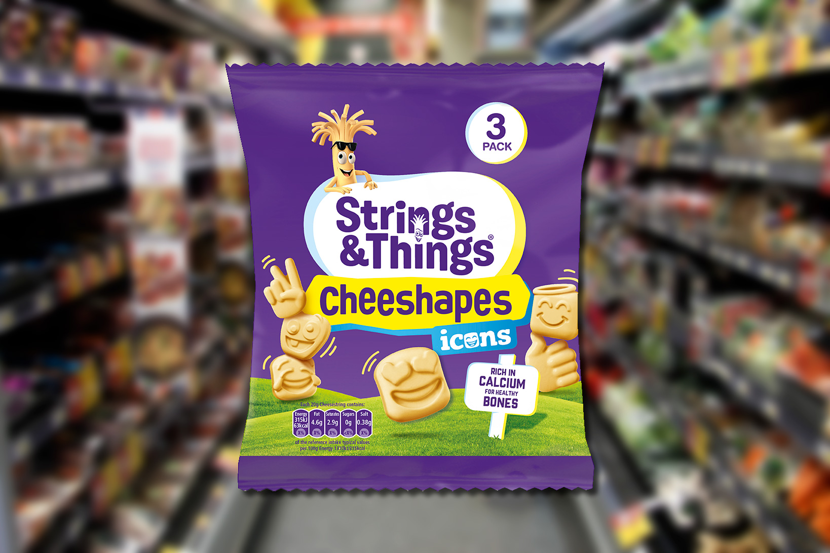 Cheeshapes from Kerry Foods