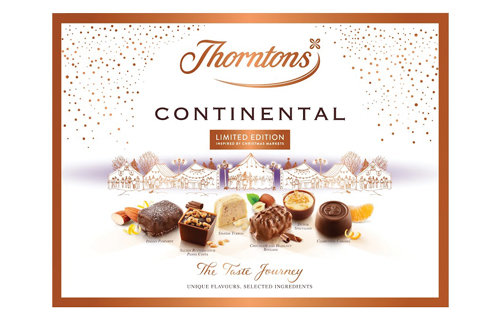 Thorntons Continental Limited Edition Continental Winter Markets box