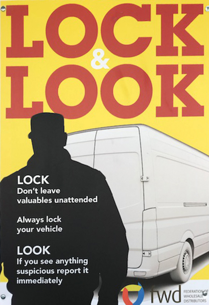 Lock and look