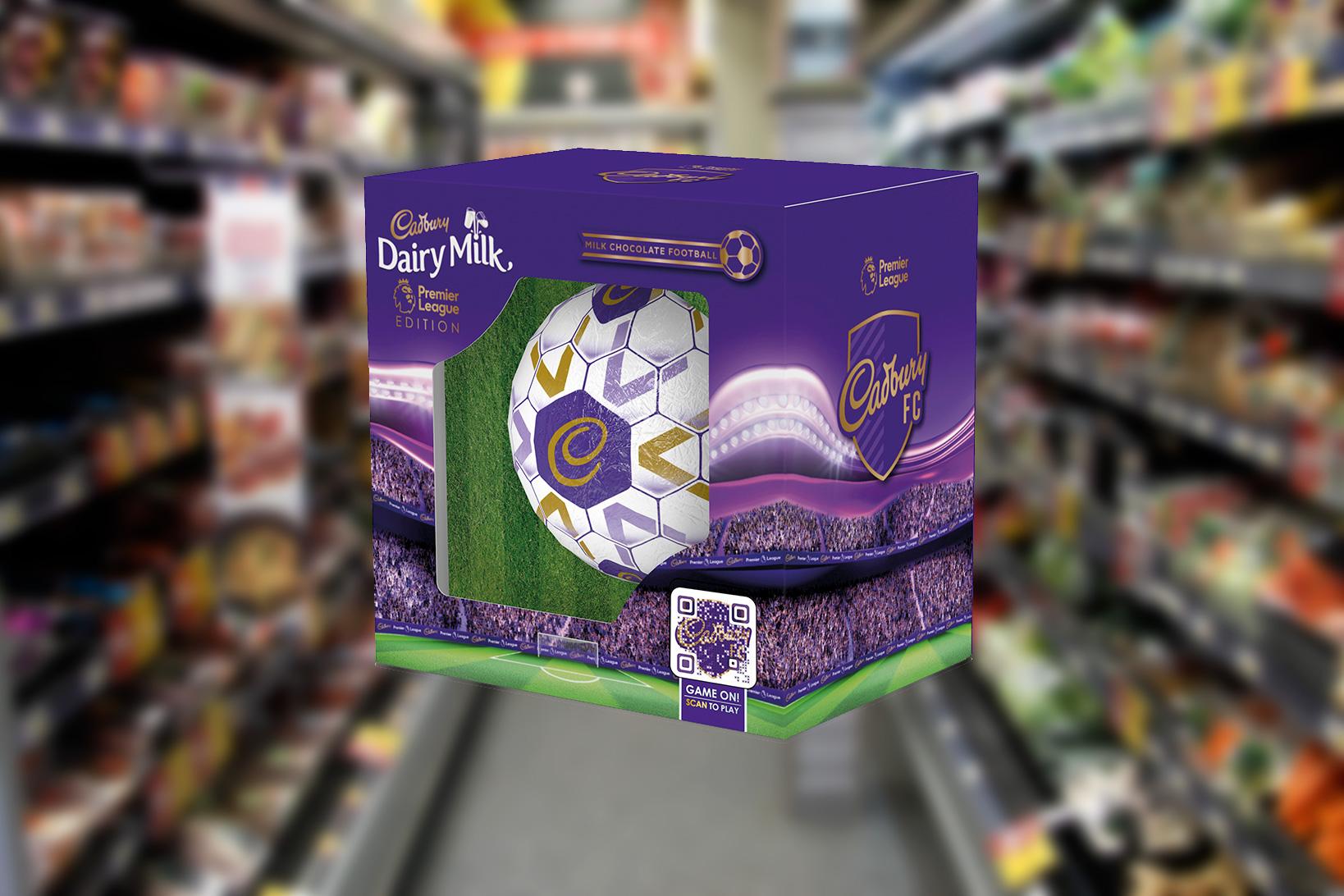 Cadbury chocolate football