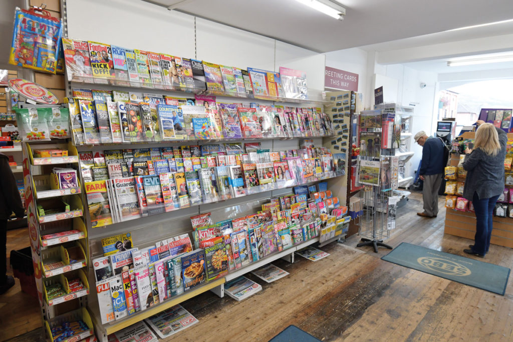 Magazines for sale at Newsworld Church Stretton