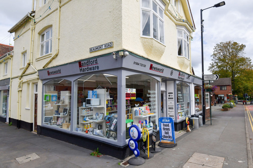 Newsworld Church Stretton store from outside