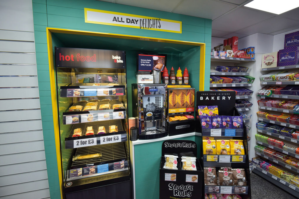Costcutter Dringhouses food to go and hot snacks