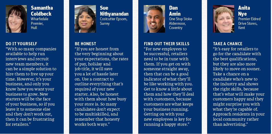 Retail job interview advice
