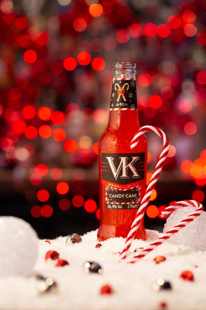 VK Candy Cane flavour drink