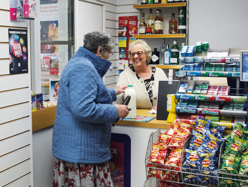 Manor Village Stores Post Office South Wheatley tills