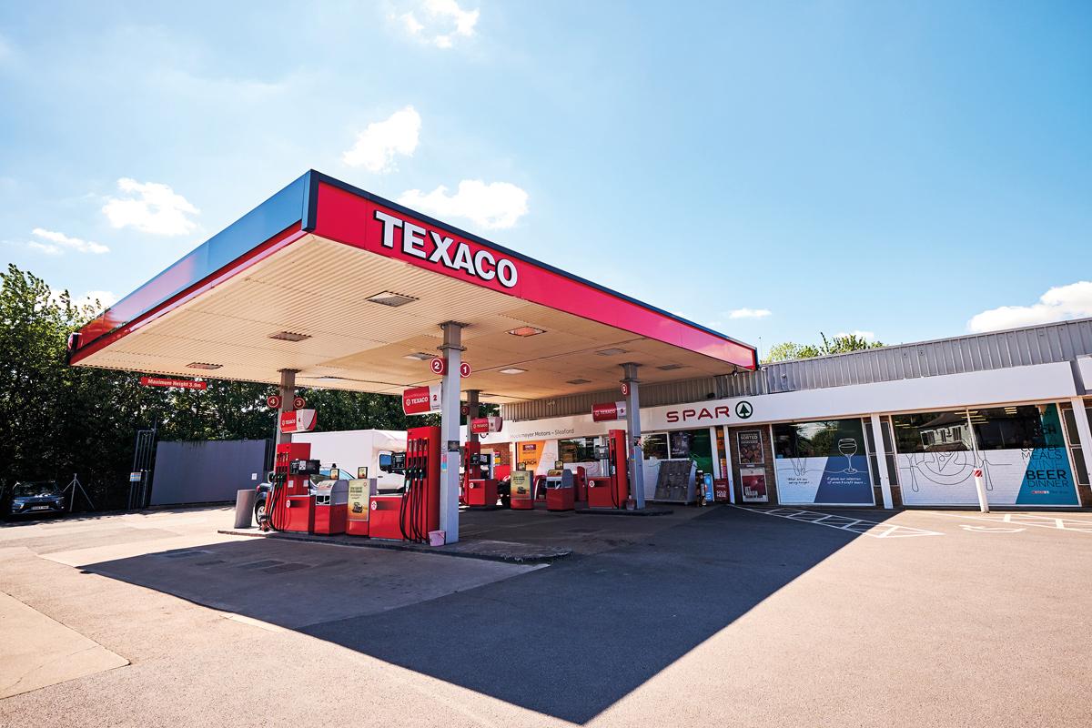 Spar Sleaford Texaco