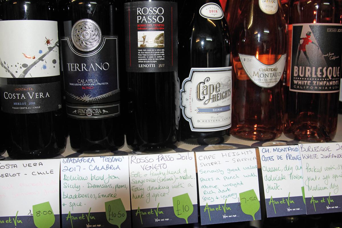 Brenda's of Norwell wine