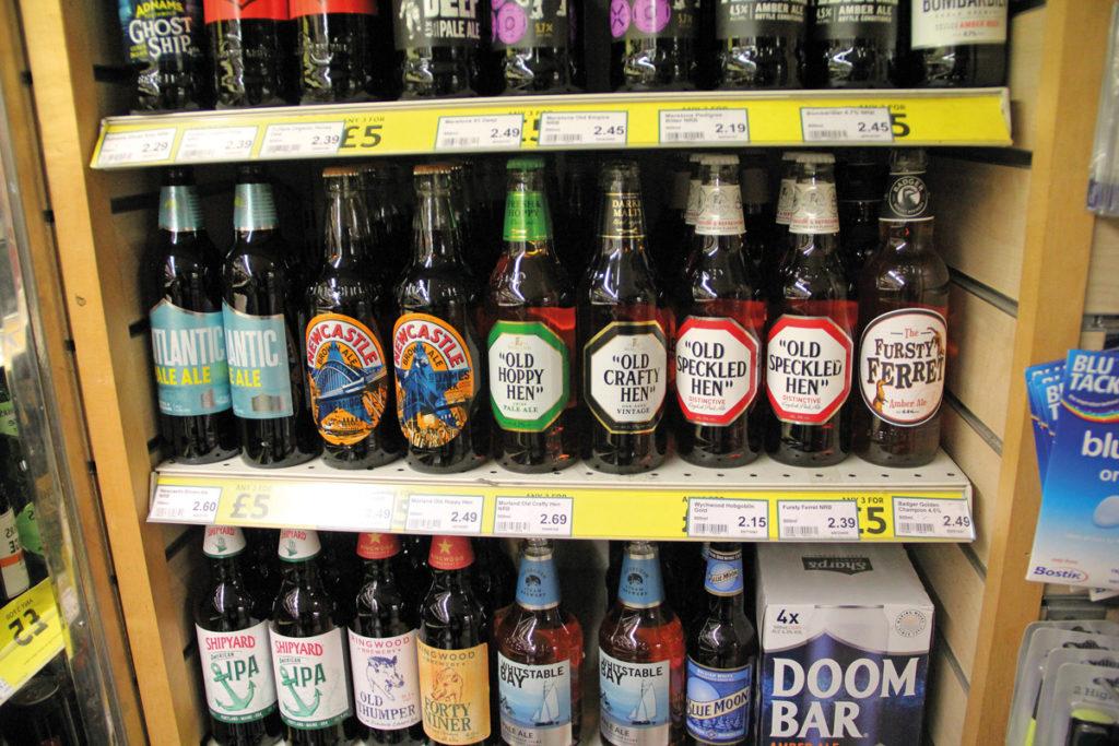 Londis Peverills beer