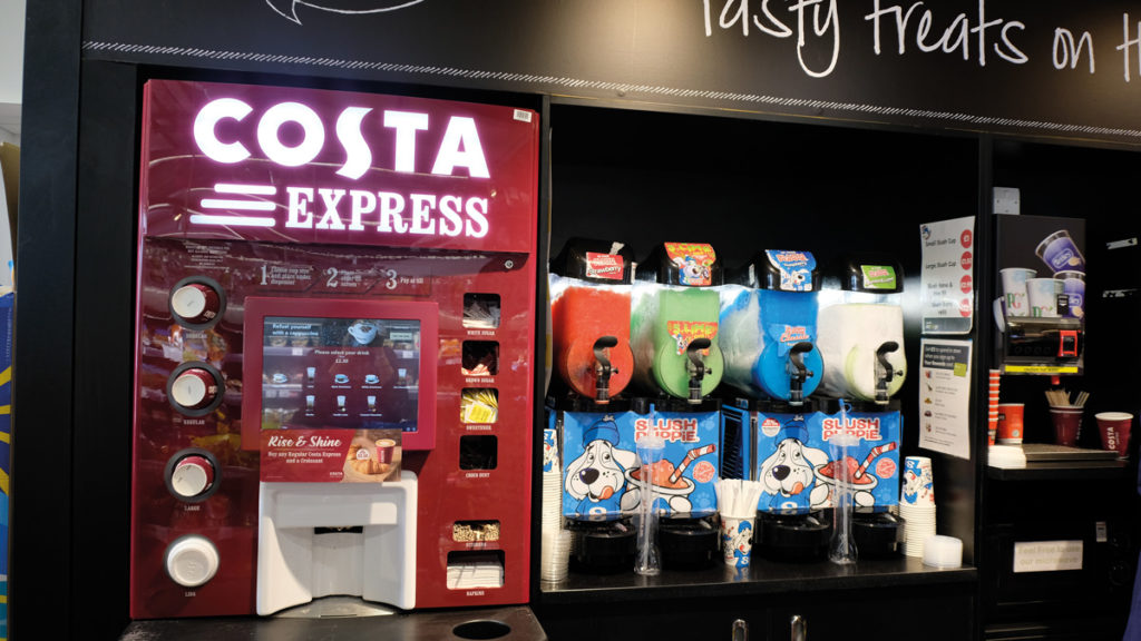 Sewell On The Go Costa Coffee