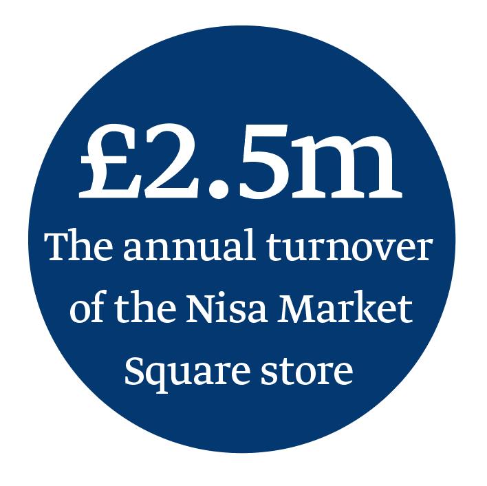 Nisa Market Square annual turnover