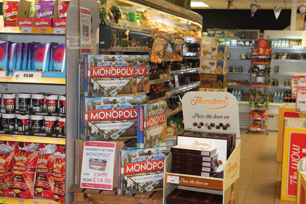 Nisa Market Square York Monopoly