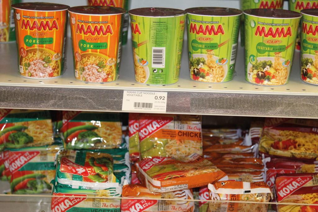 Nisa Market Square pot noodles