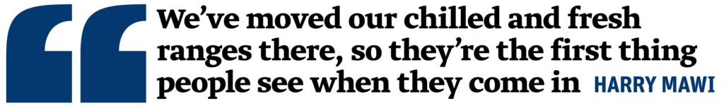 Nisa Crossgates Harry Mawi quote