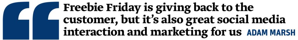 Adam Marsh quote