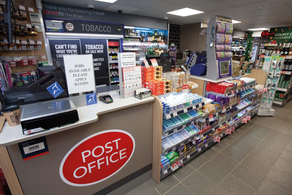 Spar Hampton Evesham post office