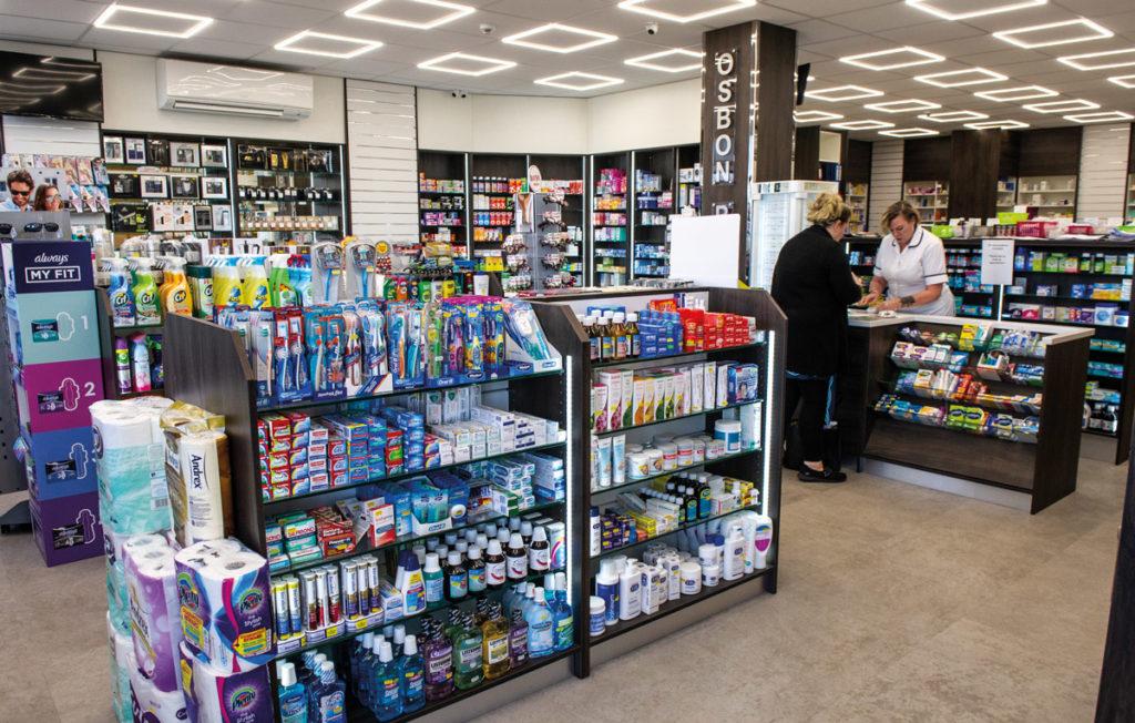 Osbon Pharmacy Witham interior