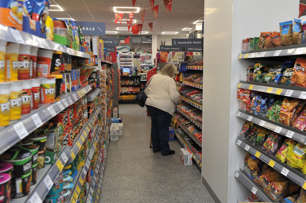 Osbon Pharmacy Witham aisles