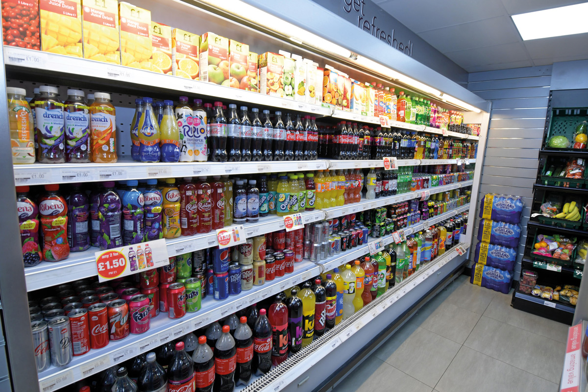 Premier St Mary's Supermarket Southampton soft drinks