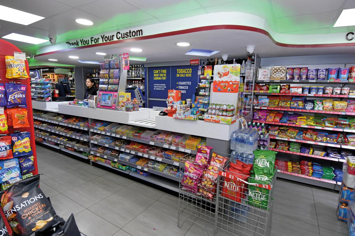 Premier St Mary's Supermarket Southampton tills