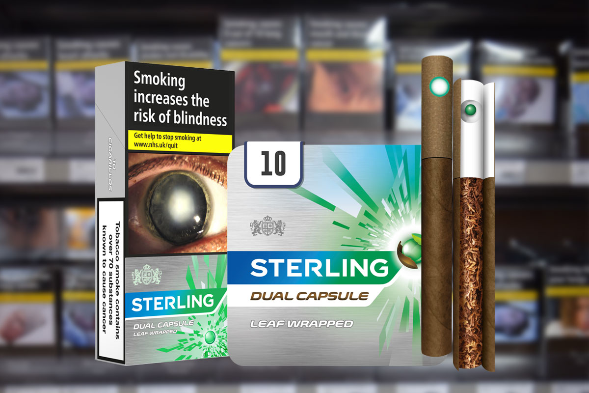 Exclusive Jti To Launch Sterling Dual Capsule Leaf Wrapped Menthol Cigarillos Betterretailing