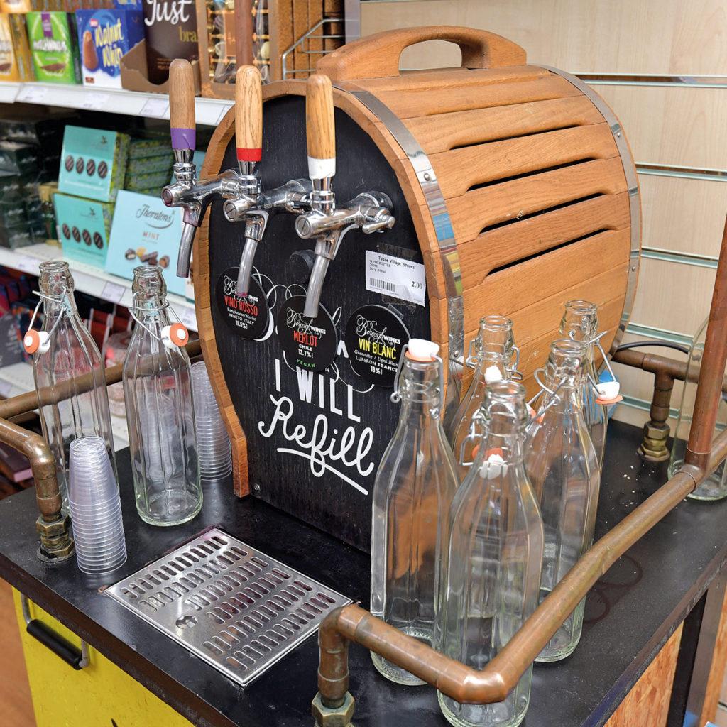 Tysoe Village Stores water refill