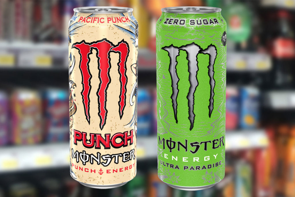 Monster Energy Launches Ultra Paradise And Pacific Punch