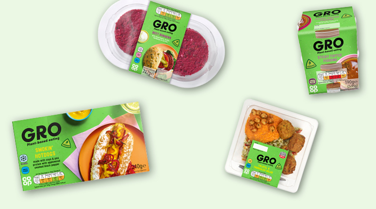 New Vegan Gro Range Launched By Co Op Betterretailing