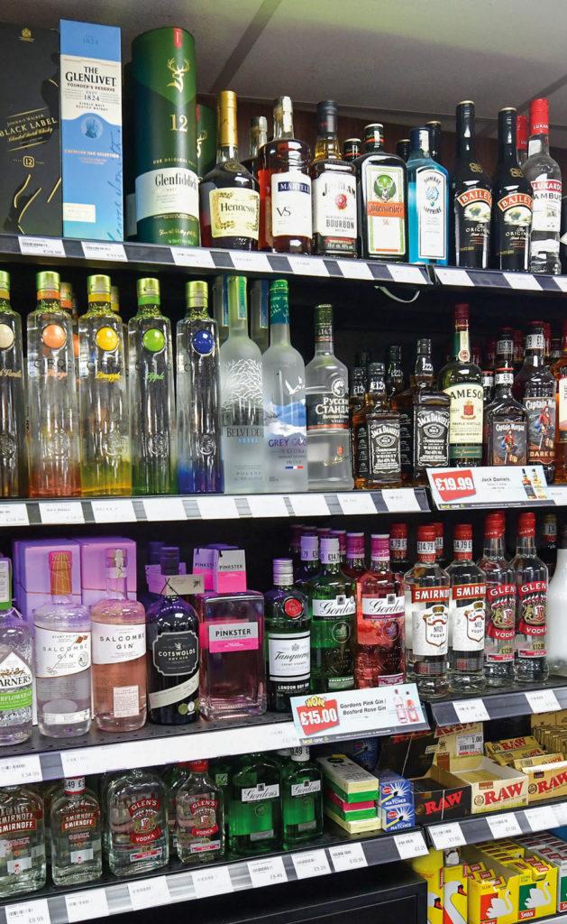 Pedmore Convenience Store premium gins