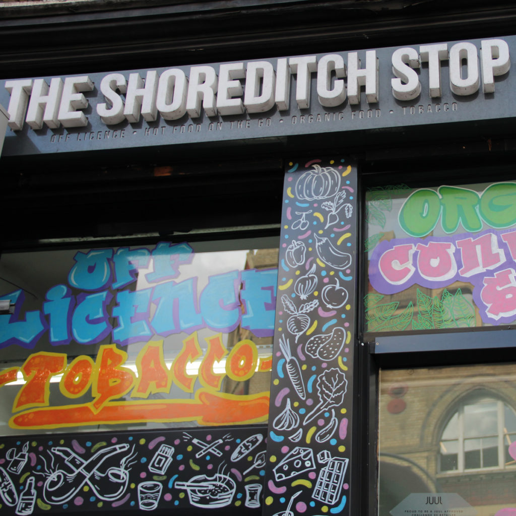 The Shoreditch Stop exterior