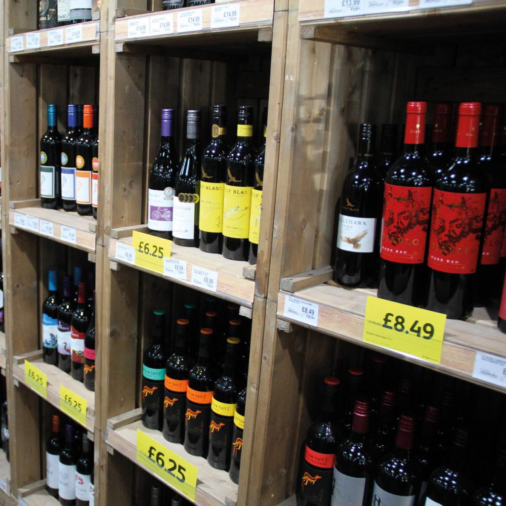 Londis Chesham wine selection