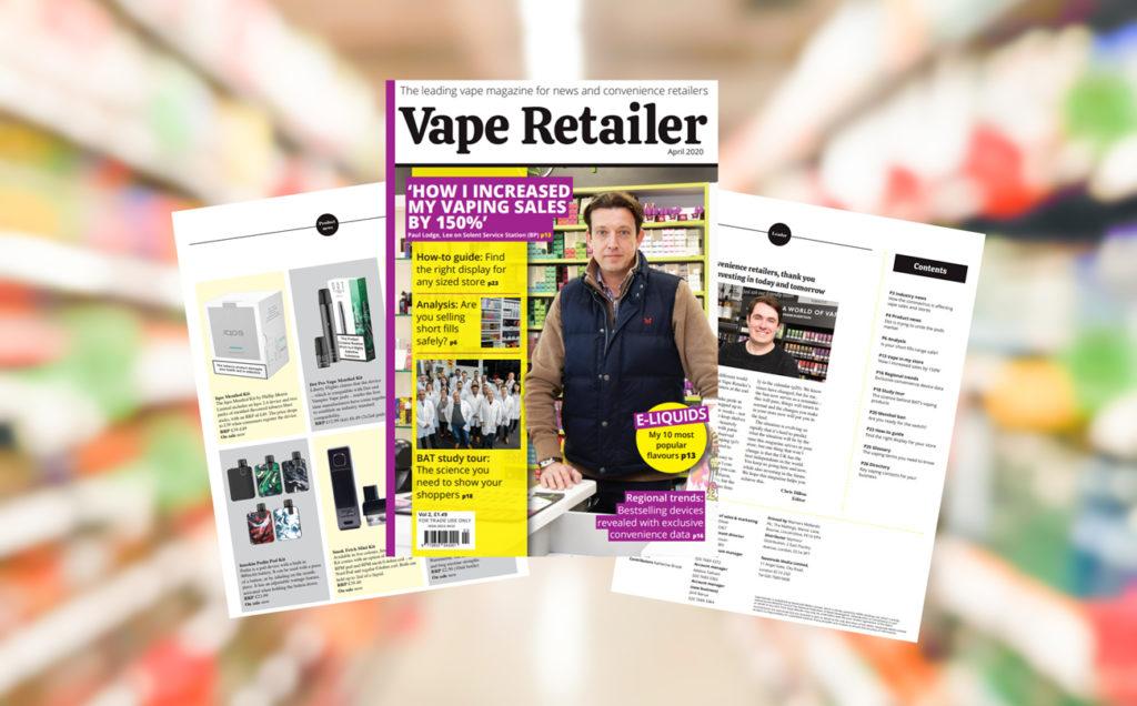 Vape Retailer - April 2020