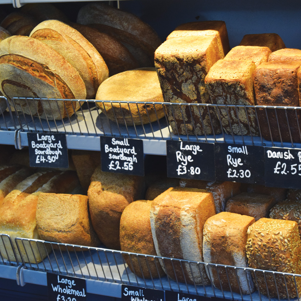 The Real Food Store Exeter bakery