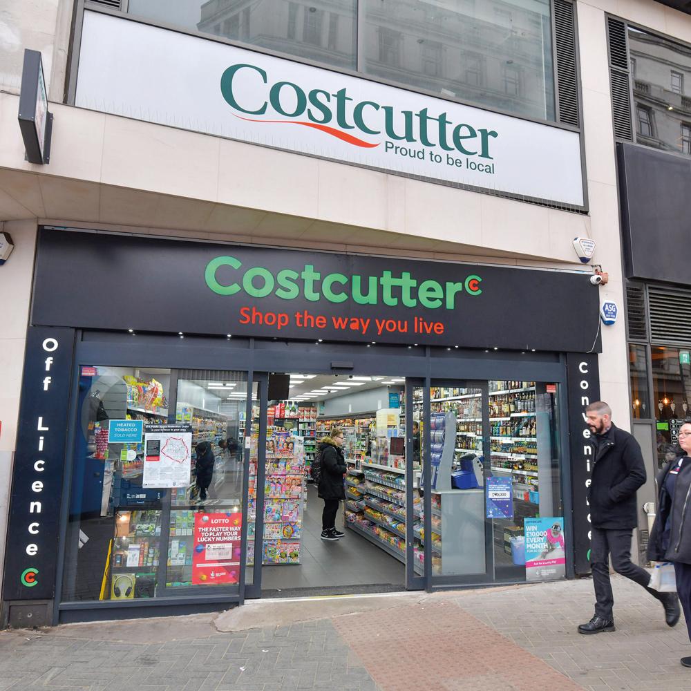 Costcutter Bull Street Birmingham exterior