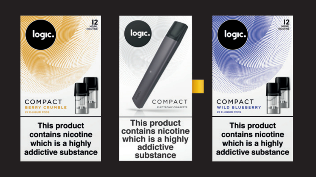 Logic Compact vapes