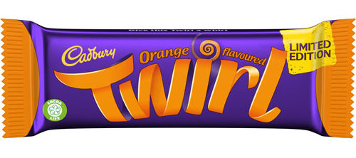 Cadbury Twirl Orange