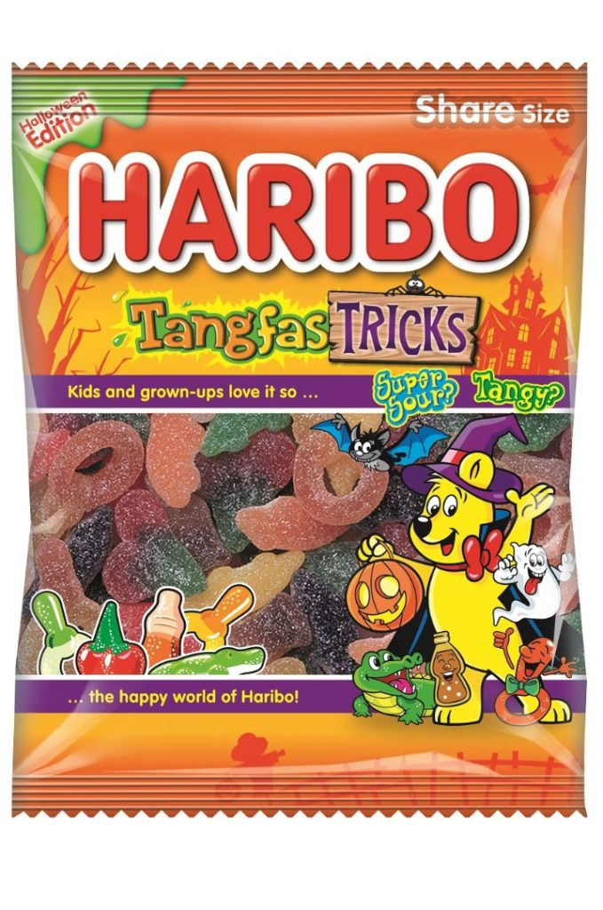 Haribo Tangfastic Tricks Halloween sweets