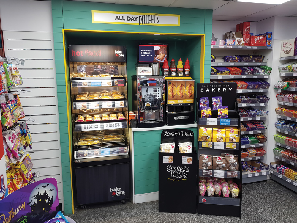 All day delights coffee to go machine