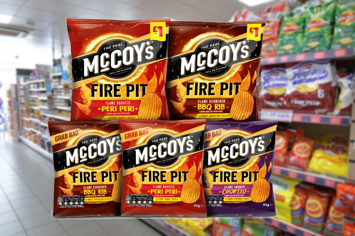 McCoy's Fire Pit launched by KP Snacks - betterRetailing